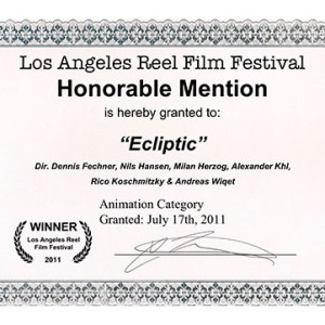 Honorable Mention des Los Angeles Reel Festivals.