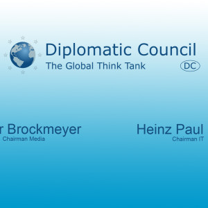 Die Chairmen des Diplomatic Council Global IT & Media im Dialog