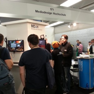 Unser MD.H-Stand auf der Game Developers Conference 2013