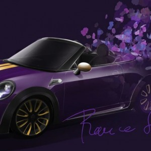 MINI x Franca Sozanni 2012- Quelle: http://www.caradvice.com.au/171278/mini-roadster-by-franca-sozzani-created-for-life-ball-charity/
