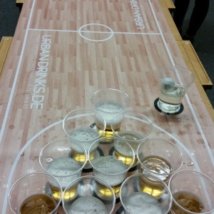 Bier-Pong-Stand